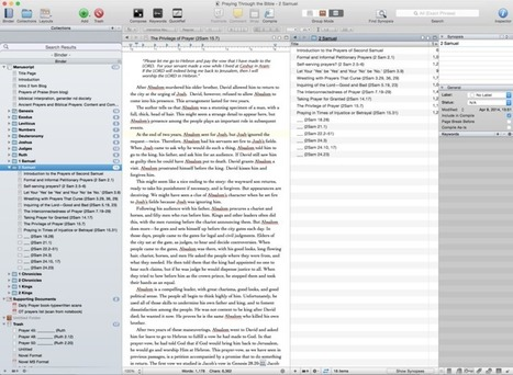 How I Use Scrivener to Write Blogs (that become books)   Scrivener   Scoop.it