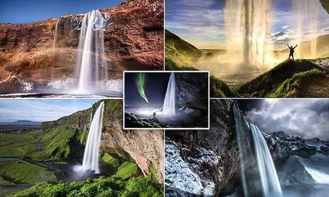 Stunning Photos Show Icelandic Waterfalls As You've Never Seen Them | Everything from Social Media to F1 to Photography to Anything Interesting | Scoop.it