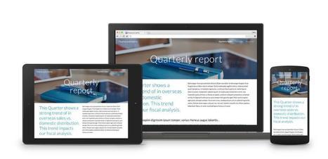 Entreprises : Google annonce Springboard et une refonte de Sites | ADN Web Marketing | Scoop.it