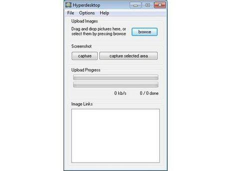 Hyperdesktop: software gratuito para capturar la pantalla, editar la imagen y compartirla | NTICs en Educación | Scoop.it