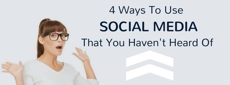 4 Ways To Use Social Media Marketing Services That You Haven't Thought of   thriveideas   Scoop.it