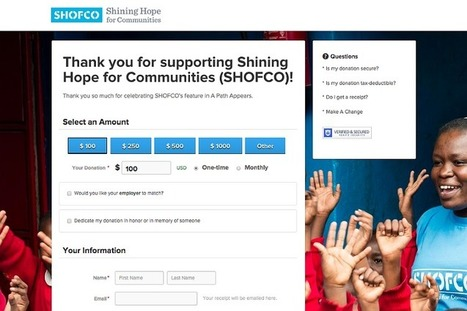 The 3 Pillars of a Strong Donation Page | Nonprofit website, donate now button, donation page, thank you page | Scoop.it