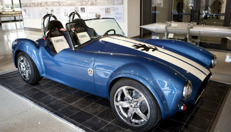 Department of Energy 3D prints an all-electric Shelby Cobra | Heron | Scoop.it