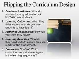 Course design … it's flipping different! | The Padagogy Wheelhouse | Scoop.it