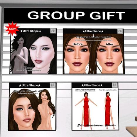 Women Shapes Group Gift by Ultra Shape | Teleport Hub - Second Life Freebies | Second Life Freebies | Scoop.it