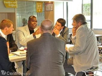 Don Thompson, numéro un de la chaîne de restauration rapide, s'est rendu, jeudi, à Rambouillet | Mon journal | Scoop.it