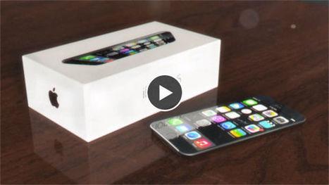 iPhone 6 : l'écran courbé à l'honneur dans un nouveau concept - Gentside | iphone 6 | Scoop.it