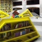 Mexique : une bibliothèque pour les enfants dans une ancienne aciérie | bibliothèques troisième lieu, bibliothèques innovantes | Scoop.it