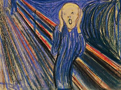 Edvard Munch : Angst-ridden artist or canny businessman ? | The Independent | Looks -Pictures, Images, Visual Languages | Scoop.it