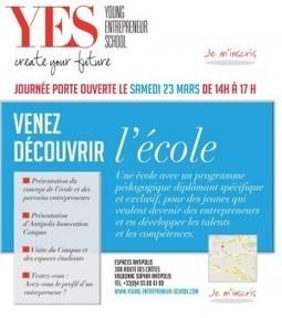 NEWS // YES, l'école de l'entrepreunariat. | Personal Social Branding | Scoop.it