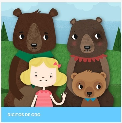 Spanish Story for Kids – Ricitos de Oro from Pictocuentos | Spanish | Scoop.it