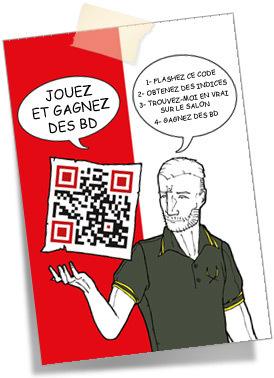 Chasse à l'Homme au Quai des Bulles | QRdressCode | Scoop.it
