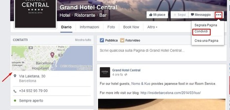 Le nuove pagine Facebook per hotel | Web Marketing Turistico | Scoop.it