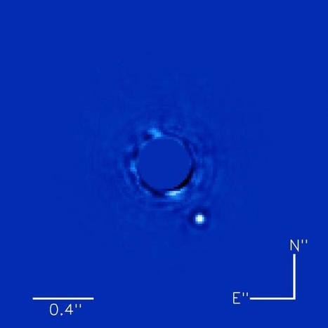 Gemini Planet Imager captures best photo ever of an exoplanet | Amazing Science | Scoop.it