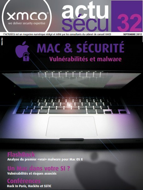 Sécurité Mac : XMCO actu-secu [pdf] | digitalcuration | Scoop.it