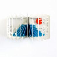 Bookmarking Book Art - Yusuke Oono | Books On Books | Scoop.it