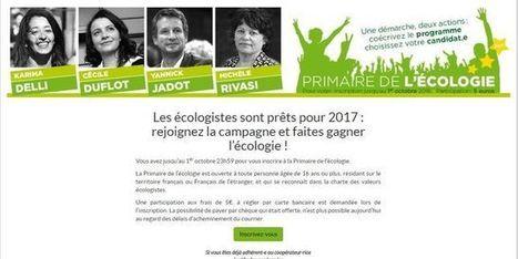 Primaire écologiste: EELV corrige des problèmes de sécurité sur son site - le Monde | Actualités écologie | Scoop.it