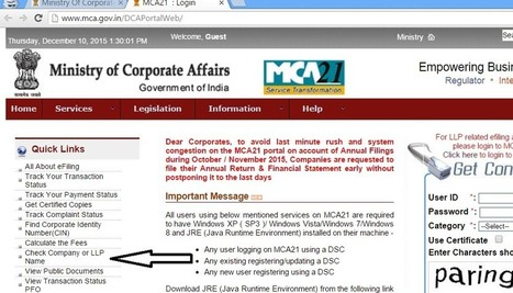 how to check company registration in delhi – Due Diligence Financial Services | Company Registration in Delhi | Scoop.it