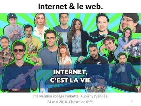 Internet et le web en classe de 6ème | Education & Numérique | Scoop.it