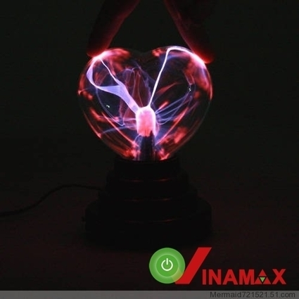 Đèn Plasma hình trái tim | Đồ Handmade - Qùa tặng sáng tạo | Scoop.it