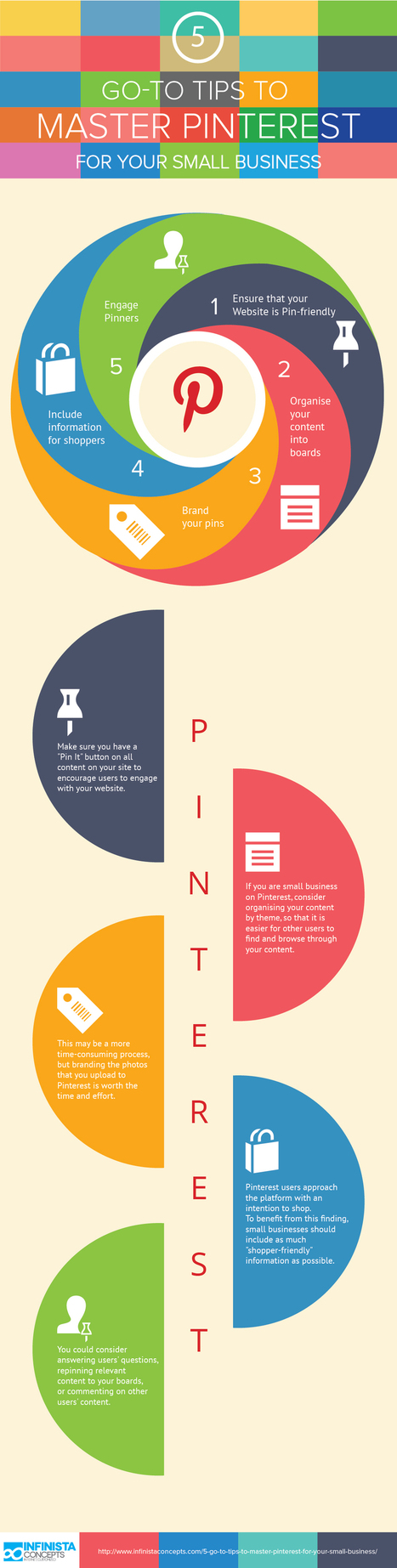 5 consejos para el Pinterest de tu pyme #infografia #infographic #socialmedia | Seo, Social Media Marketing | Scoop.it