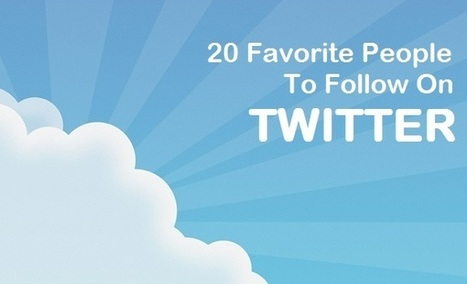 20 Top People On Twitter To Follow – February   Blogging, Social Media, Marketing, Entrepreneurs   Scoop.it