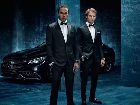 Le partenariat inédit d'Hugo Boss et Mercedes AMG Petronas | Aline Jost | Scoop.it