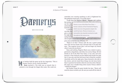 HarperCollins Releases Game of Thrones Enhanced Edition | | Ebook and Publishing | Scoop.it