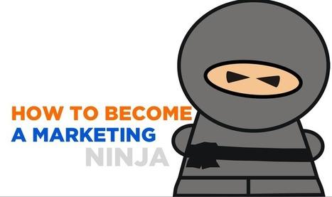 How to become a marketing Ninja - Tout ce qu'il faut savoir sur le marketing en 2013 | Web Marketing | Scoop.it