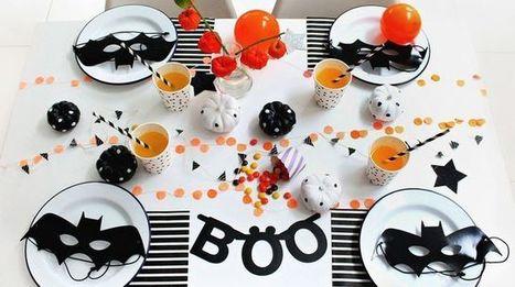 Pinterest : 6 tables pas kitsch pour Halloween - CôtéMaison.fr | Cuisine & Déco de Melodie68 | Scoop.it