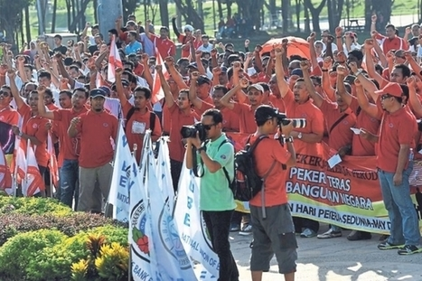 [Malaysia] Workers have right to protest, says MTUC | Asian Labour Update | Scoop.it