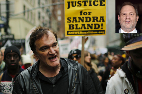 Harvey Weinstein furious at Tarantino for anti-cop rally | Xposed | Scoop.it