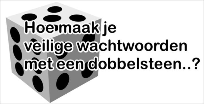 Edu-Curator: Hoe maak je 'veilige' wachtwoorden met een dobbelsteen..? | Educatief Internet - Gespot op 't Web | Scoop.it