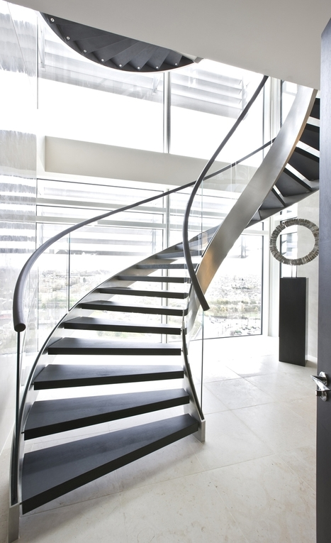 10 Staircase Design Ideas for a Contemporary Home   Adelto   Computer-Science-Nature-Macro-Micro   Scoop.it
