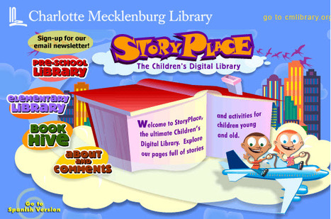 StoryPlace - The Children's Digital Library | Tech happens! | Scoop.it