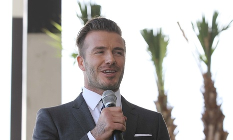 David Beckham may tempt superstar mates to Miami for new MLS team | GCSE Physical Education | Scoop.it