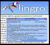 Lingro_to turn your website into a clickable dictionary ~ Teachers Tech Workshop | educational tools | Scoop.it