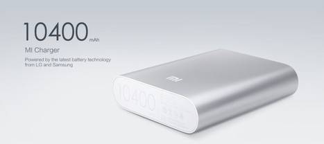 Smartylife.net | Vinci uno Xiaomi Powerbank da 10400mah | iMela & Affini | Scoop.it