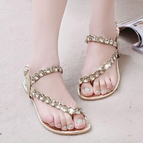 Stylish Collection Of Flat Sandals For Girls From Summer Season 2014 | Women Fashion | Women fashion | Scoop.it