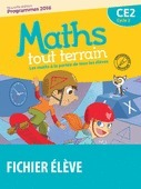 Maths tout terrain CE2, cycle 2 : les maths à la portée de tous les élèves : programmes 2016 : [fichier de l'élève] | Les nouveautés de la médiathèque | Scoop.it