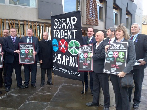 Supporting the Scrap Trident Coalition « Green MSPs | YES for an Independent Scotland | Scoop.it