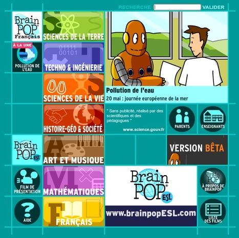 BrainPOP - Site éducatif animé pour enfants | Activités en ligne pour l'école primaire | Scoop.it