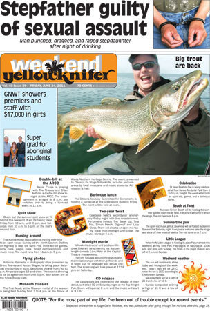Headlines for Yellowknifer for June 24th 2011 | NWT News | Scoop.it