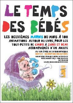 Le temps des bébés à la Bibliothèque publique locale de Nivelles | Escapages | Scoop.it