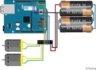 Arduino motor control through a web server   Arduino ya!   Scoop.it