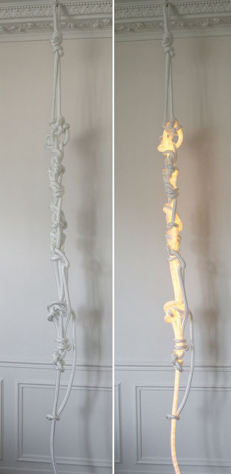 ROPES Lamps by Christian Haas   Art, Design & Technology   Scoop.it