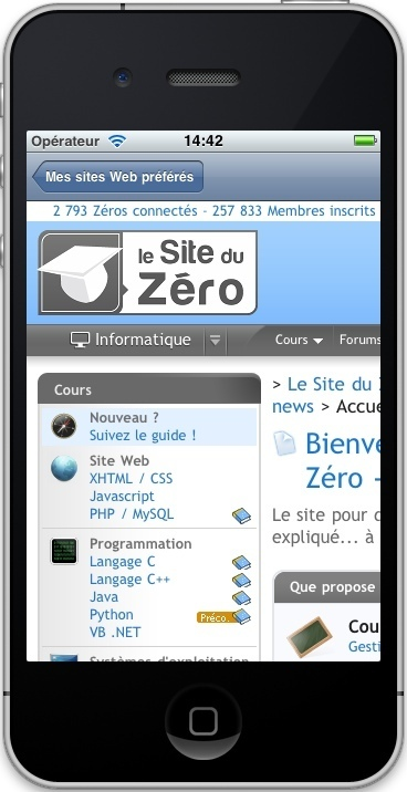 Créez des applications pour iPhone, iPad et iPod Touch | INFORMATIQUE 2013 | Scoop.it