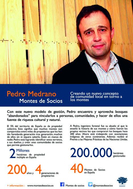 Pedro Medrano - Montes de Socios | Presentación #FellowsAshoka | Scoop.it