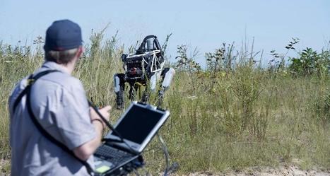 Le robot Spot fait ses classes avec l'armée américaine | Libertés Numériques | Scoop.it
