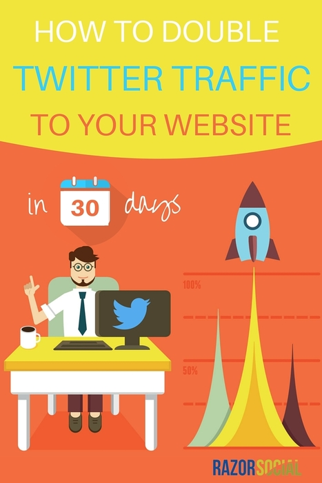 How You Can Increase Traffic on Twitter by at Least 106% | Razorsocial | Scoop.it